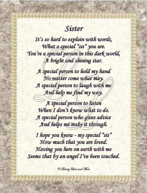 little sister birthday poems - photo #20